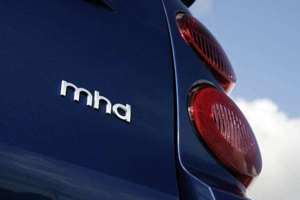 Smart fortwo mhd logo