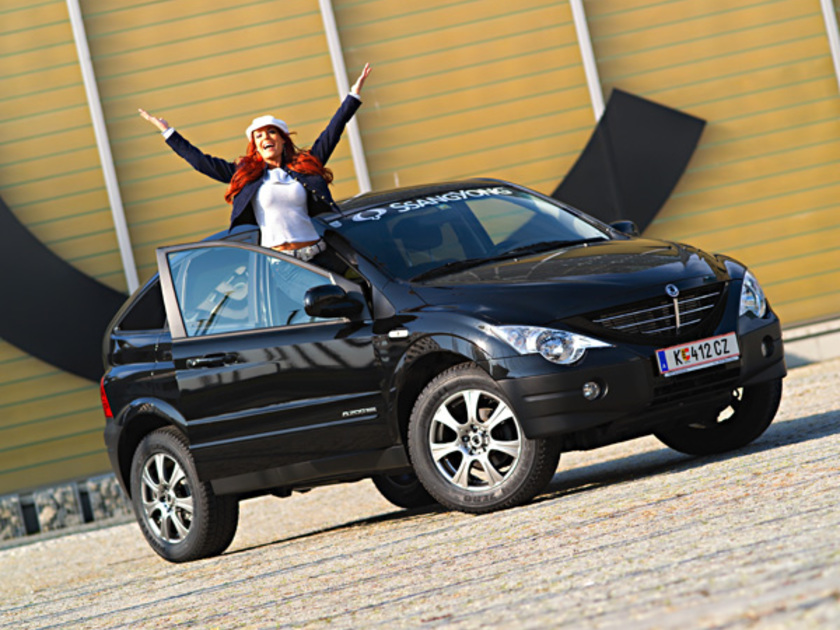Ssangyong actyon vorne