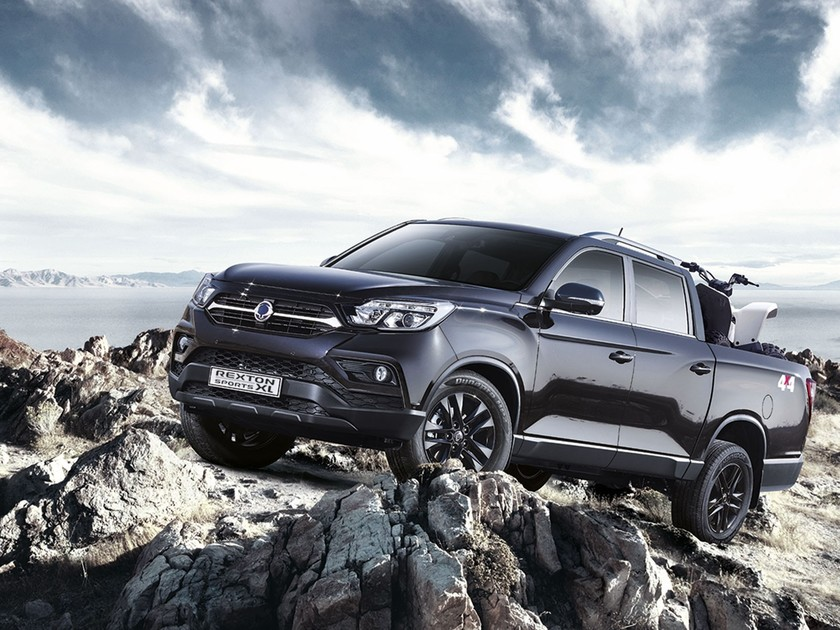 Ssangyong rexton sports xl geht start 001