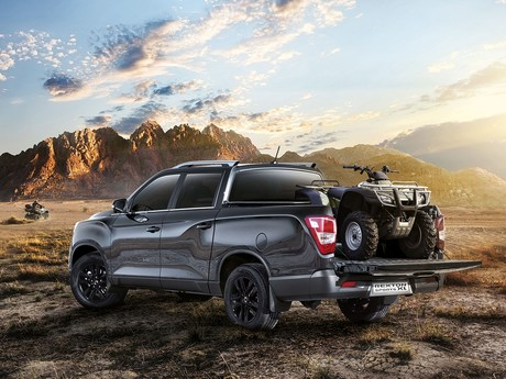 Ssangyong rexton sports xl geht start 002