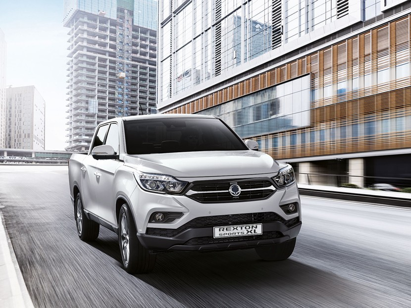 Ssangyong rexton sports xl geht start 003