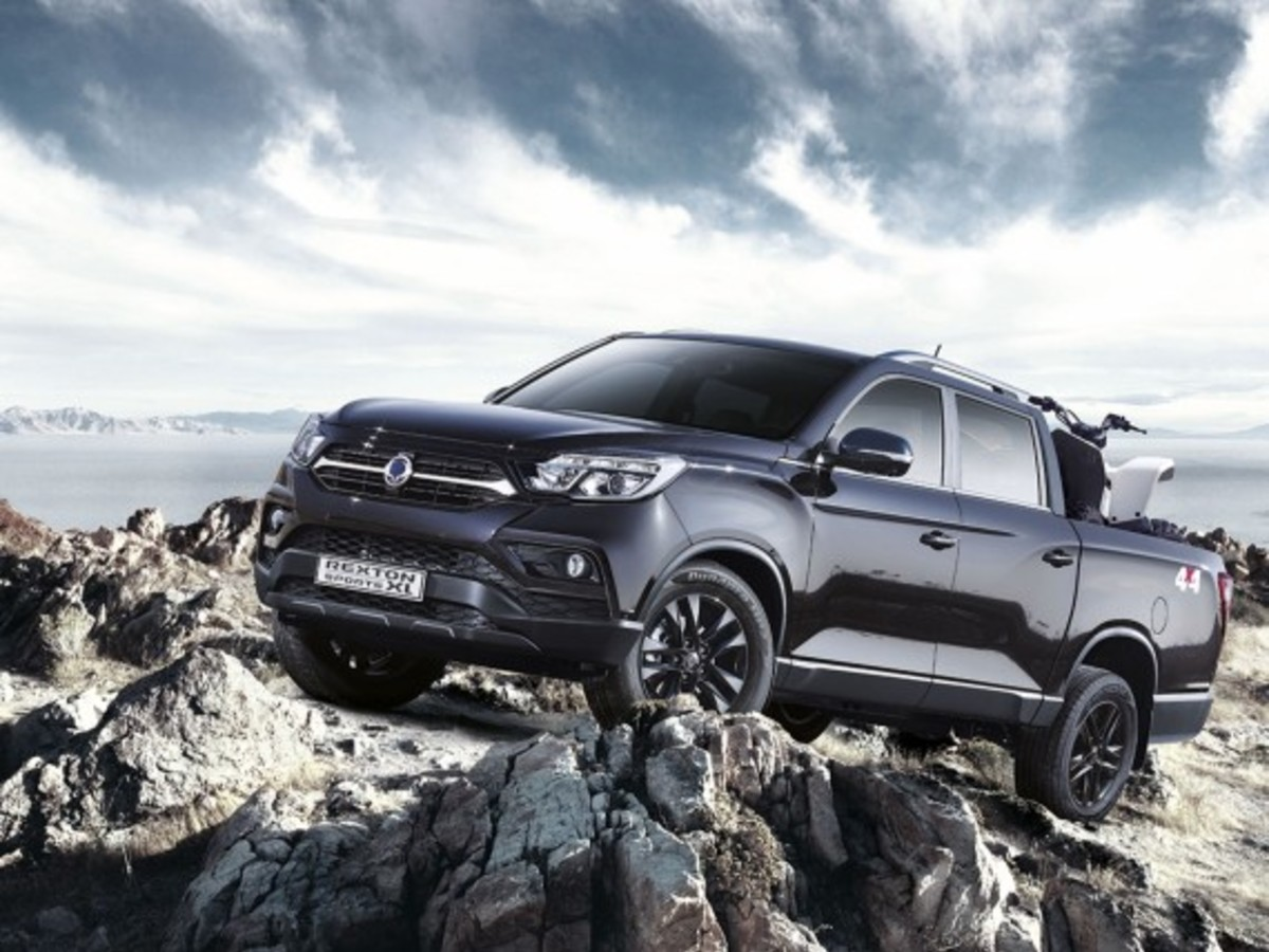 SsangYong Rexton Sports XL geht an den Start