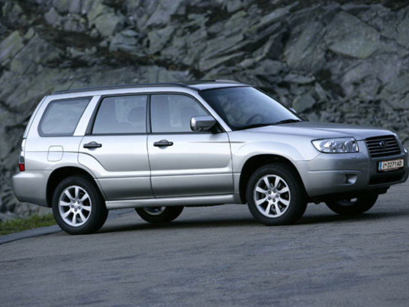 Forester auto report 2006