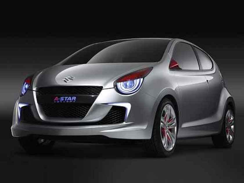 Suzuki A Star Vorne