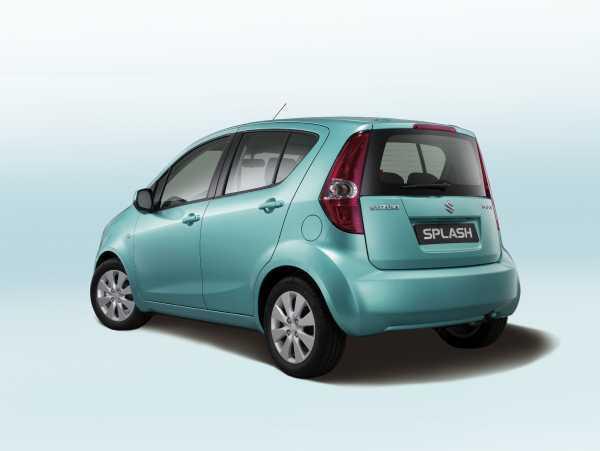 Suzuki Splash Kleinwagen Fur Junge Familien Auto Motorat
