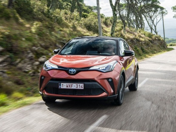 Toyota C-HR Facelift 2020