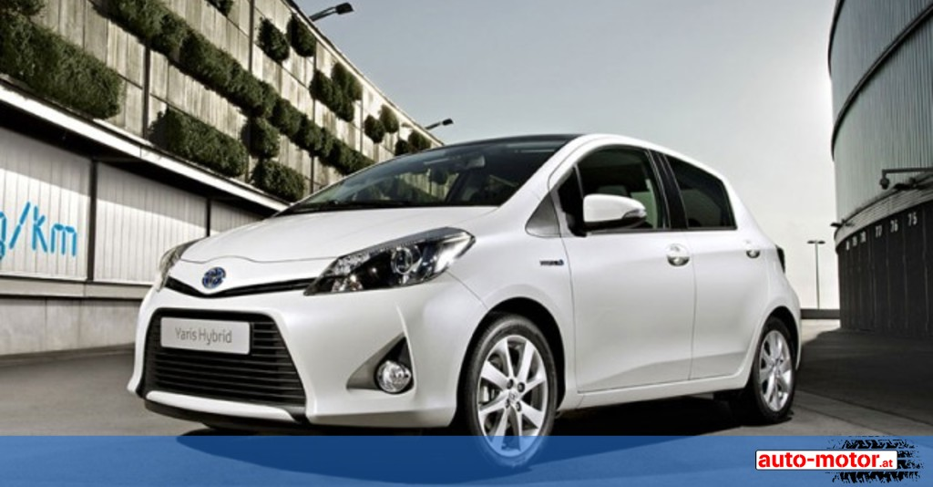toyota pr sentiert in genf den yaris hybrid auto. Black Bedroom Furniture Sets. Home Design Ideas