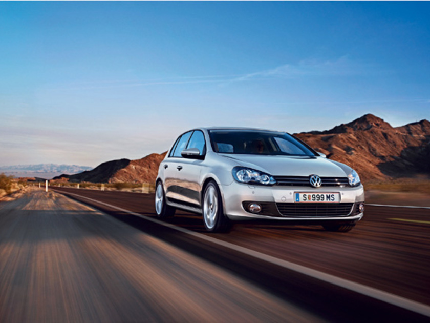 Vw golf bluemotion aktion