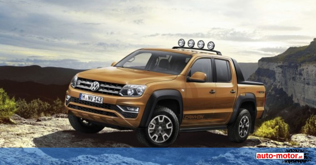 neuer vw amarok wieder als sondermodell canyon auto. Black Bedroom Furniture Sets. Home Design Ideas