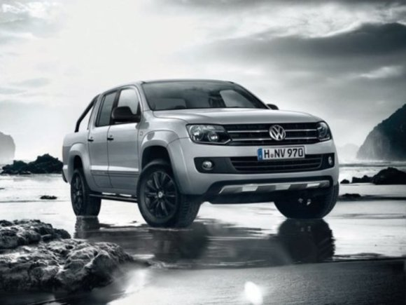 Sondermodell VW Amarok Dark Label