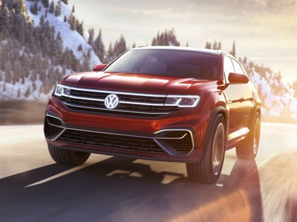 VW zeigt Atlas Cross Sport Concept