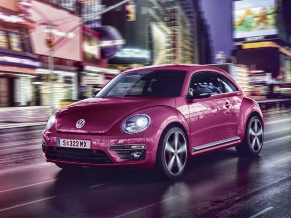 VW Beetle Pink Edition