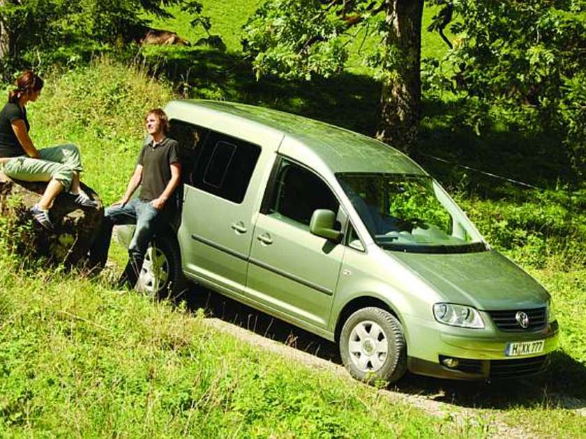 Vw caddy 4motion seite