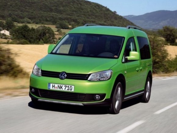 VW Caddy Country 2013