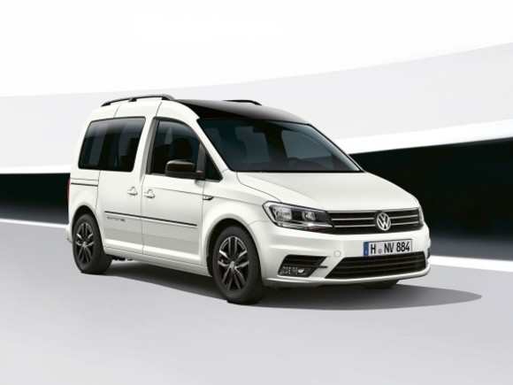 Premiere für den VW Caddy Edition 35