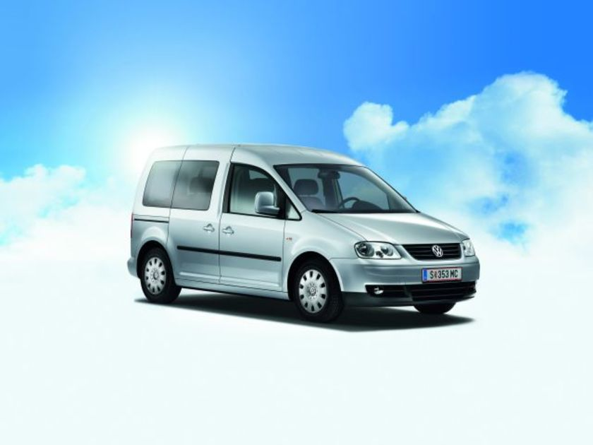 Vw caddy life family bluemotion
