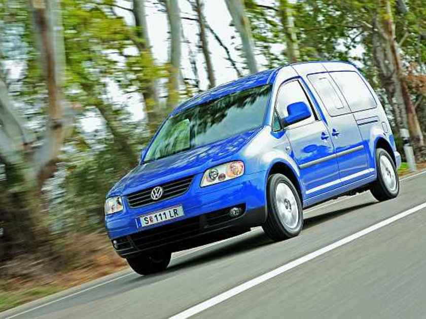 Vw caddy maxi life family sondermodell