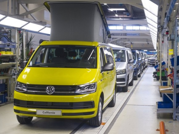 VW California: Produktionsrekord und Sonderedition