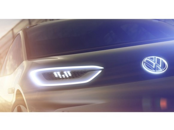 VW präsentiert Elektro Concept Car in Paris