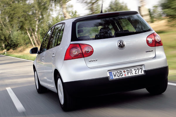 Golf bluemotion hinten
