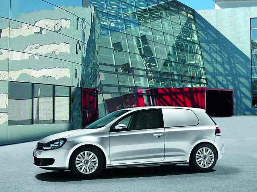 Vw golf cityvan 2009