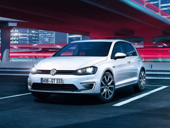 VW Golf GTE mit Plug-In-Hybrid
