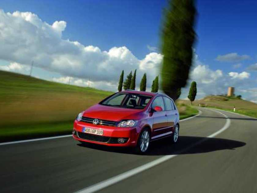Vw golf plus vorne 2009