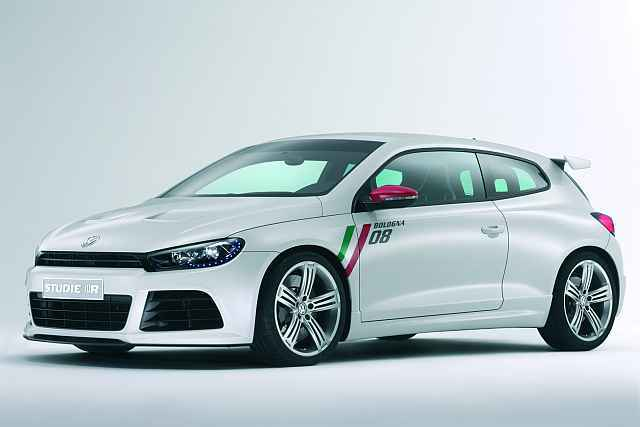 Vw studie scirocco r