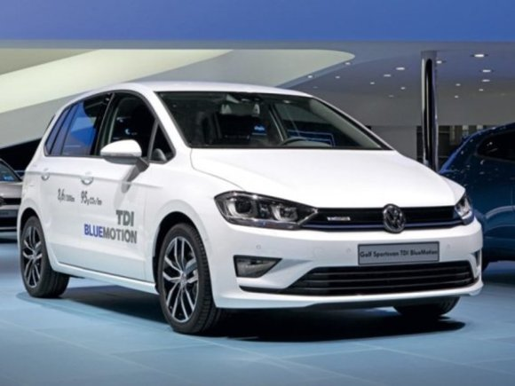 VW Golf Sportsvan TDI BlueMotion