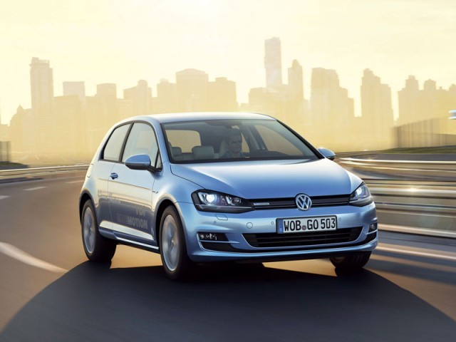 VW Golf TDI BlueMotion