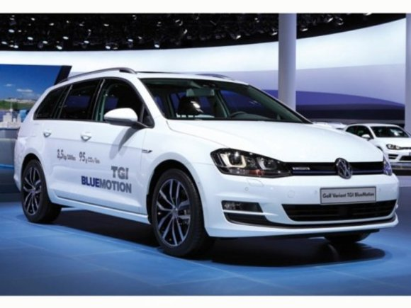 VW Golf Variant TGI BlueMotion