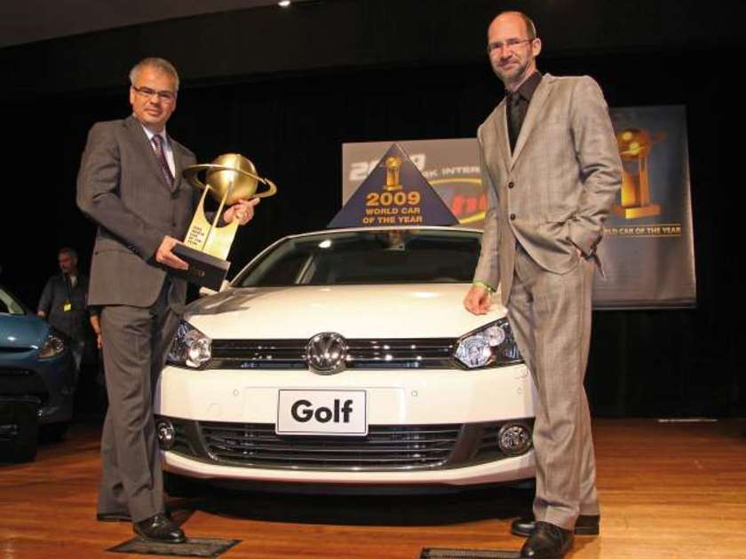 Vw golf world car of the year 2009