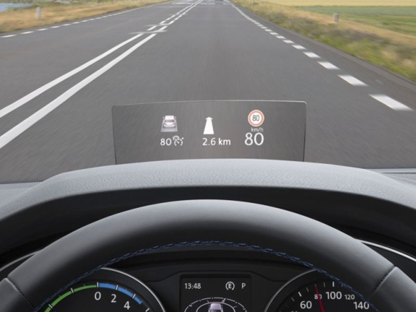 Head-up-Display für den VW Passat