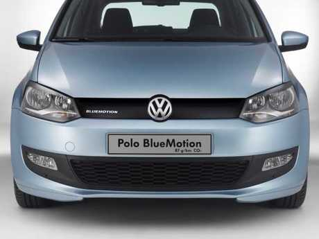 Vw studie polo bluemotion front