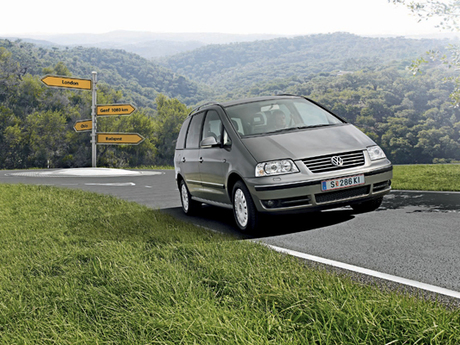 Vw sharan tdi bluemotion v