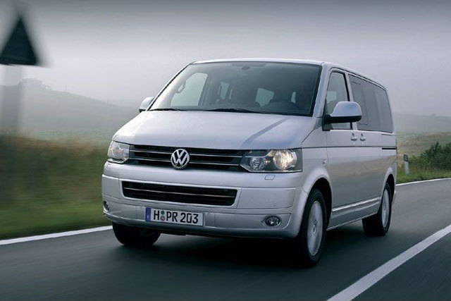 Vw t5 multivan test 2