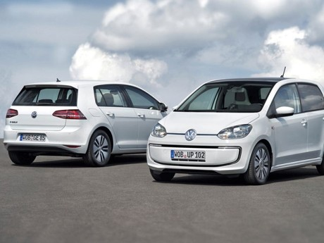 Premiere fuer vw e golf e up iaa 001
