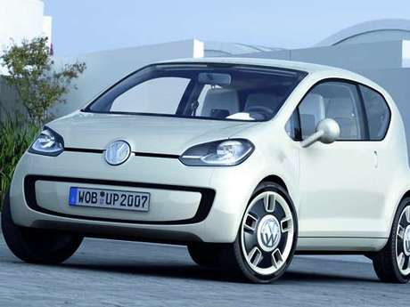 Vw up vorne
