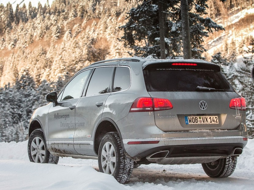 Der touareg vw driving experience 017