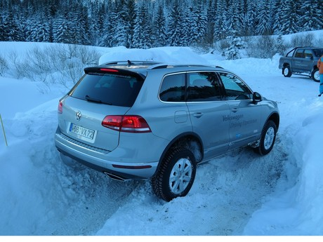Der touareg vw driving experience 020