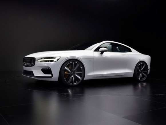 Polestar 1 startet in Goodwood