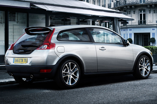 Volvo c30 efficiency hinten