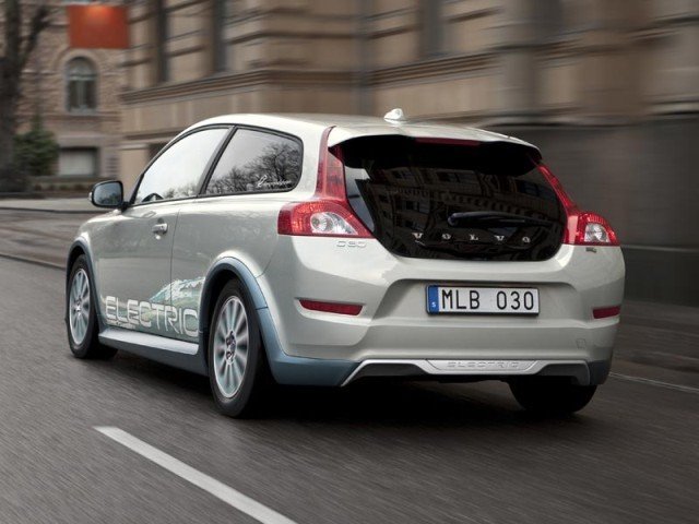 Volvo C30 Electric geht an den Start