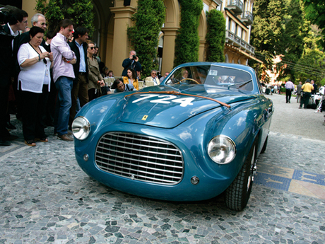 Ferrari 166 mm berlinetta touring
