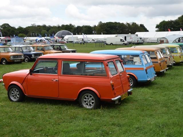 Mini Wird 55 Kleines Auto Mit Großer Geschichte Auto Motorat