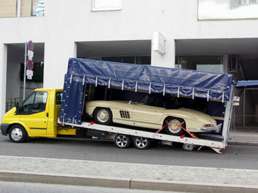 Oldtimer transport