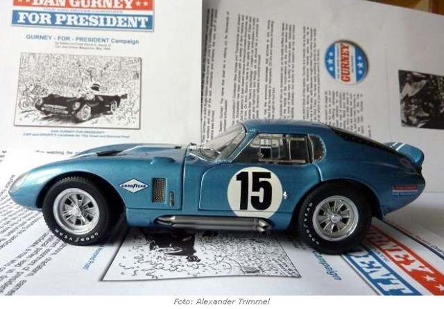 Gurney for President - Shelby Daytona Coupe