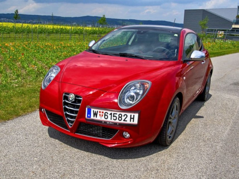alfa romeo mito im test auto. Black Bedroom Furniture Sets. Home Design Ideas