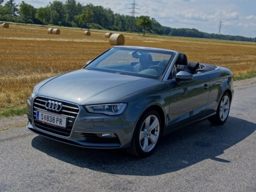 audi a3 cabrio 2 0 tdi testbericht auto. Black Bedroom Furniture Sets. Home Design Ideas