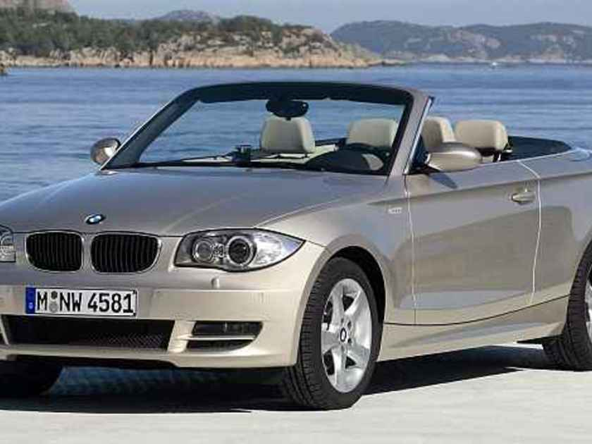 das bmw 1er cabrio 125i im test auto. Black Bedroom Furniture Sets. Home Design Ideas